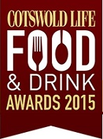 Cotswold Life Food & Drinks Awards 2015 Finalist