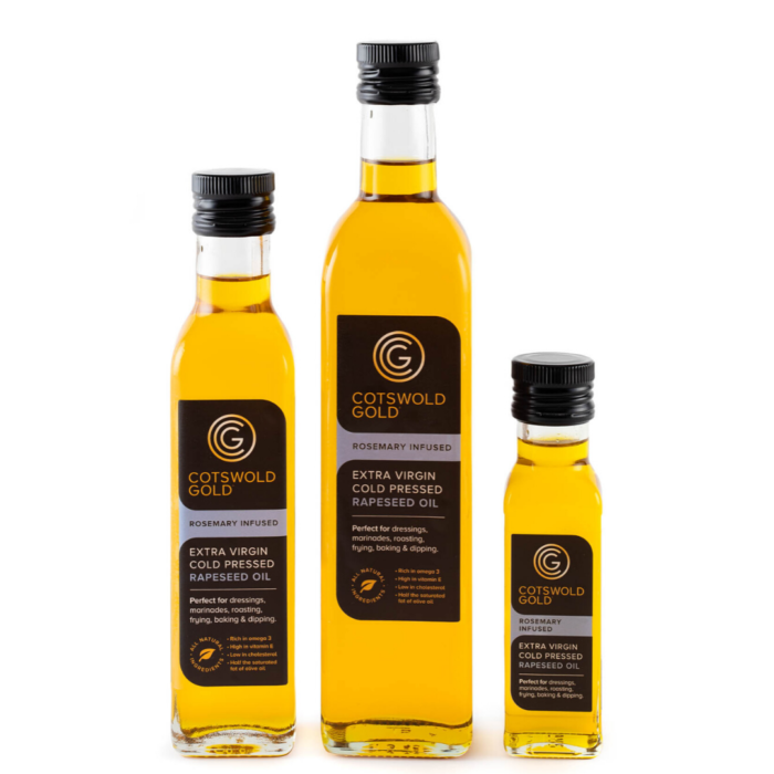 Cotswold Gold Rapeseed Oil Infusions Rosemary